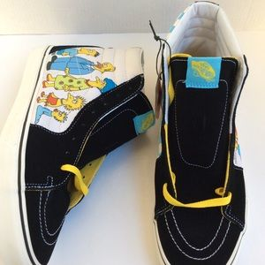Vans Simpsons 1987-2020 SK8 Hi Men's Size 11